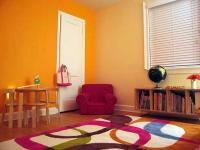 Renkli çocuk yatak odası