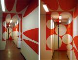 3D Painted Rooms - Kırmızı