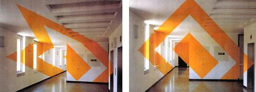 3D Painted Rooms - Turuncu