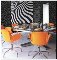 Evist - Yemek Odası ve Duvar Kağıdı