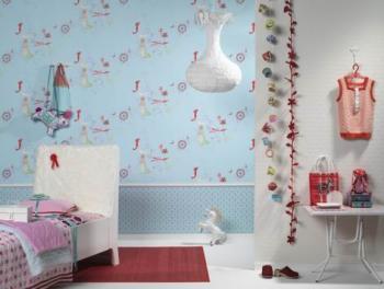Tefrish Çocuk Odası Duvar Kağıdı