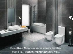 Rockale Mondeo Serisi Çanak Lavabo