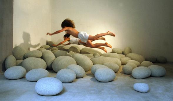 kaya yastıklar