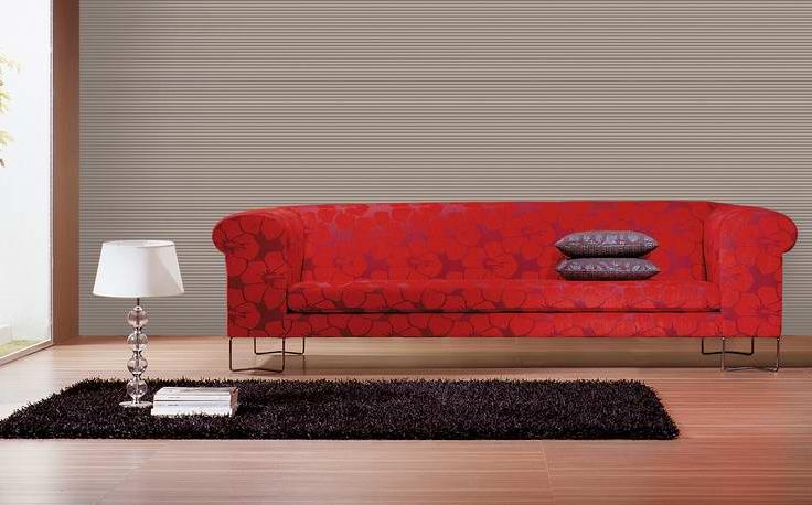 Lazzoni - Çiçekli Kırmızı Koltuk